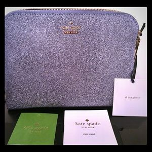 Kate Spade NWT Burgess Court Briley Cosmetic Bag